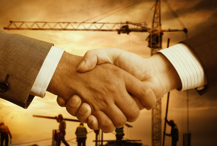Construction job contractor service agreement